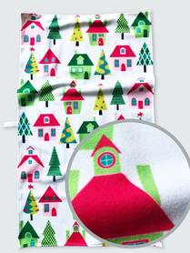 Kitchen cloths with a 37x62 cm Christmas motif