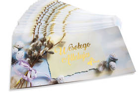 Easter cards with envelopes for COMPANIES 20 pieces