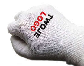 Protective gloves with YOUR LOGO